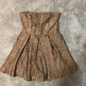 Urban outfitters golden brown romper